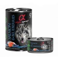 alpha spirit lata de salmon arandanos