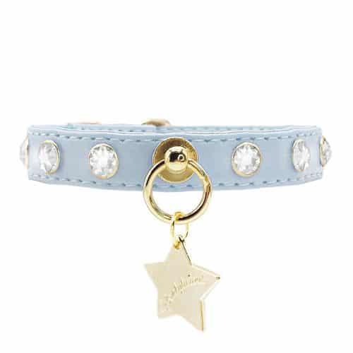 collar crystals azul funkylicious